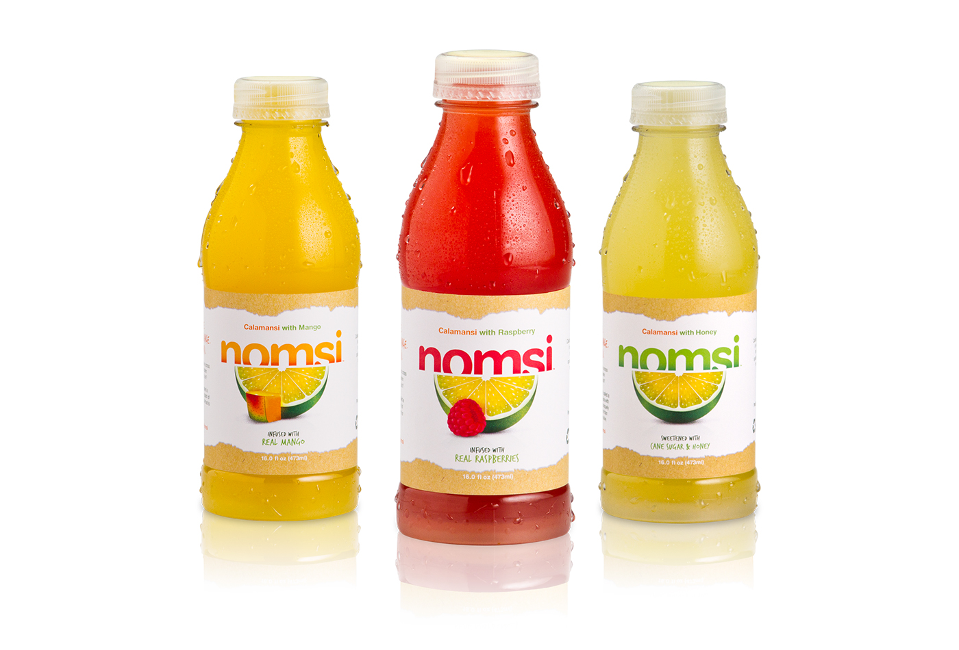 Nomsi Bottle shots