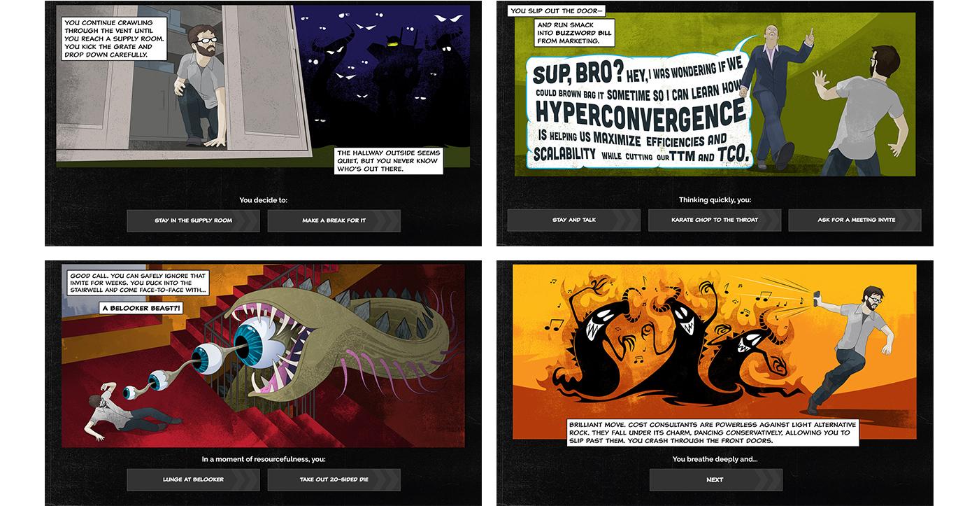 Serverpocalypse screens
