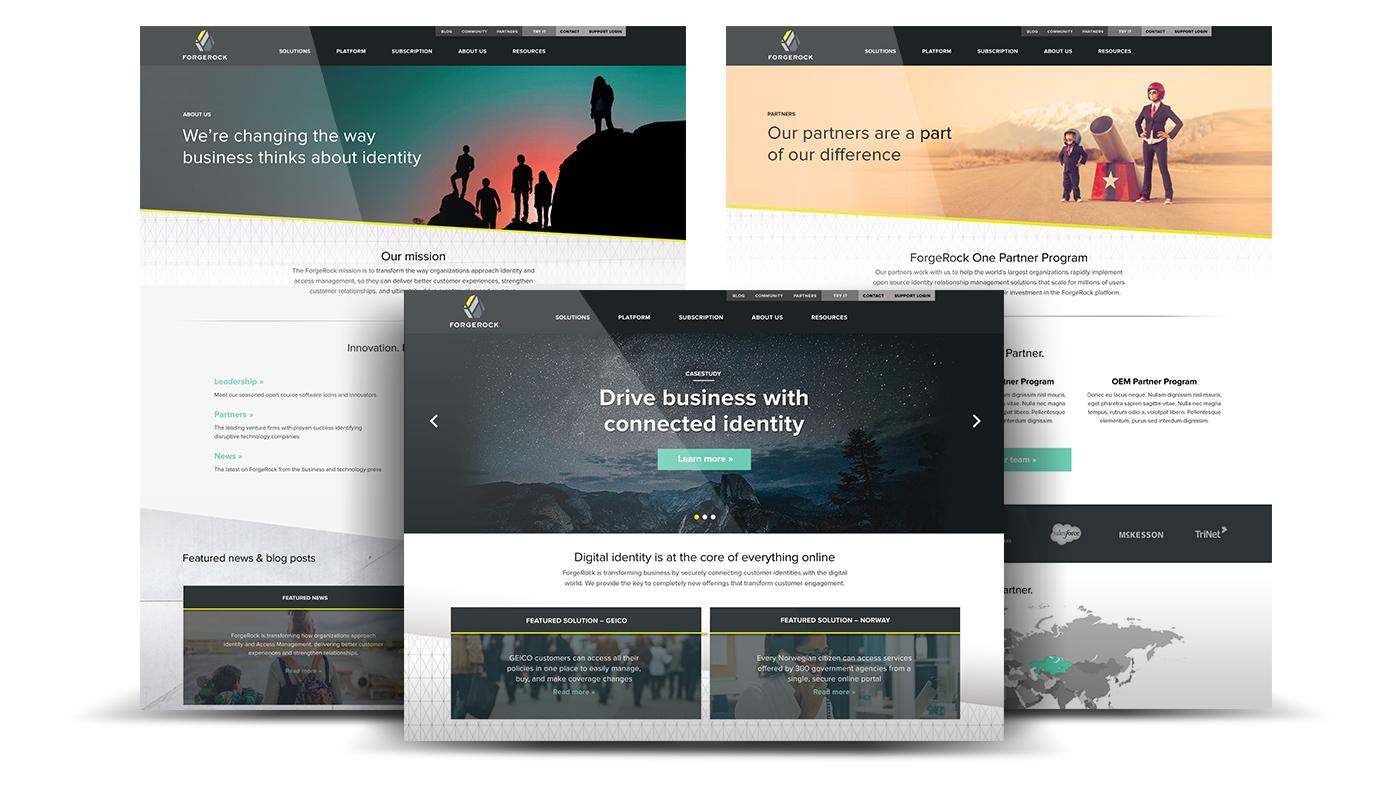 Forgerock website