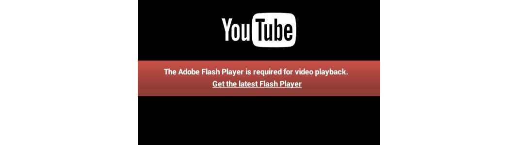 Flash and Youtube