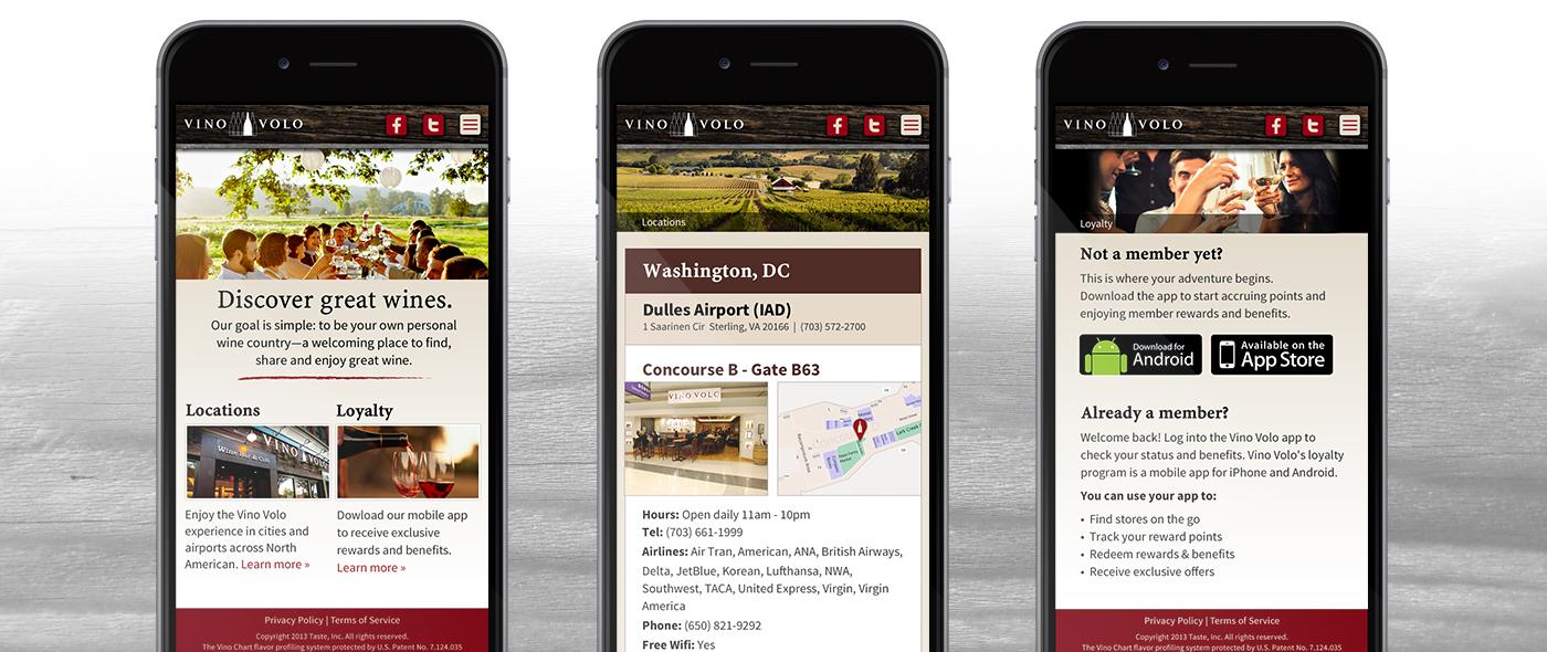 vino mobile images