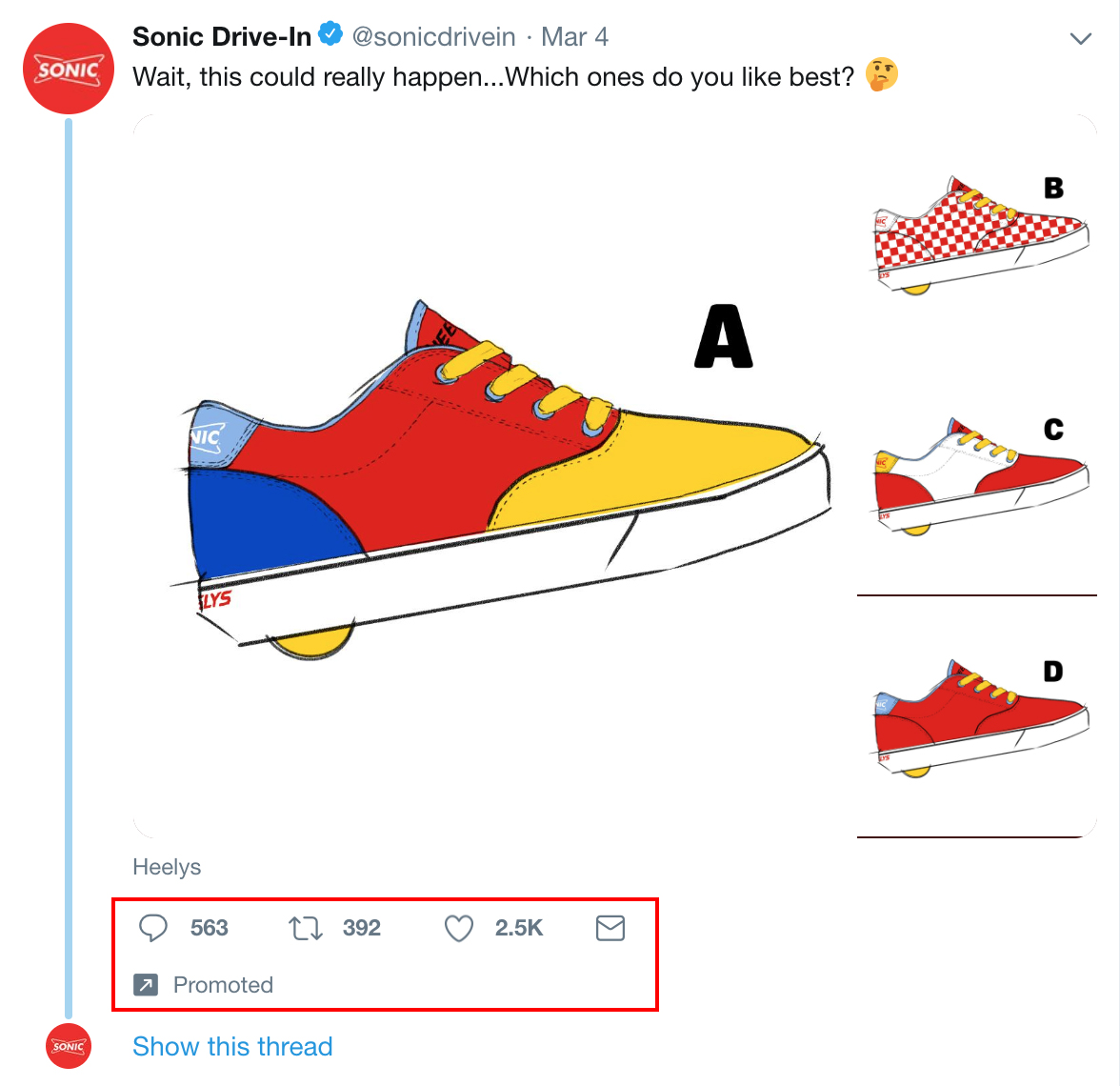Sonic Tweet