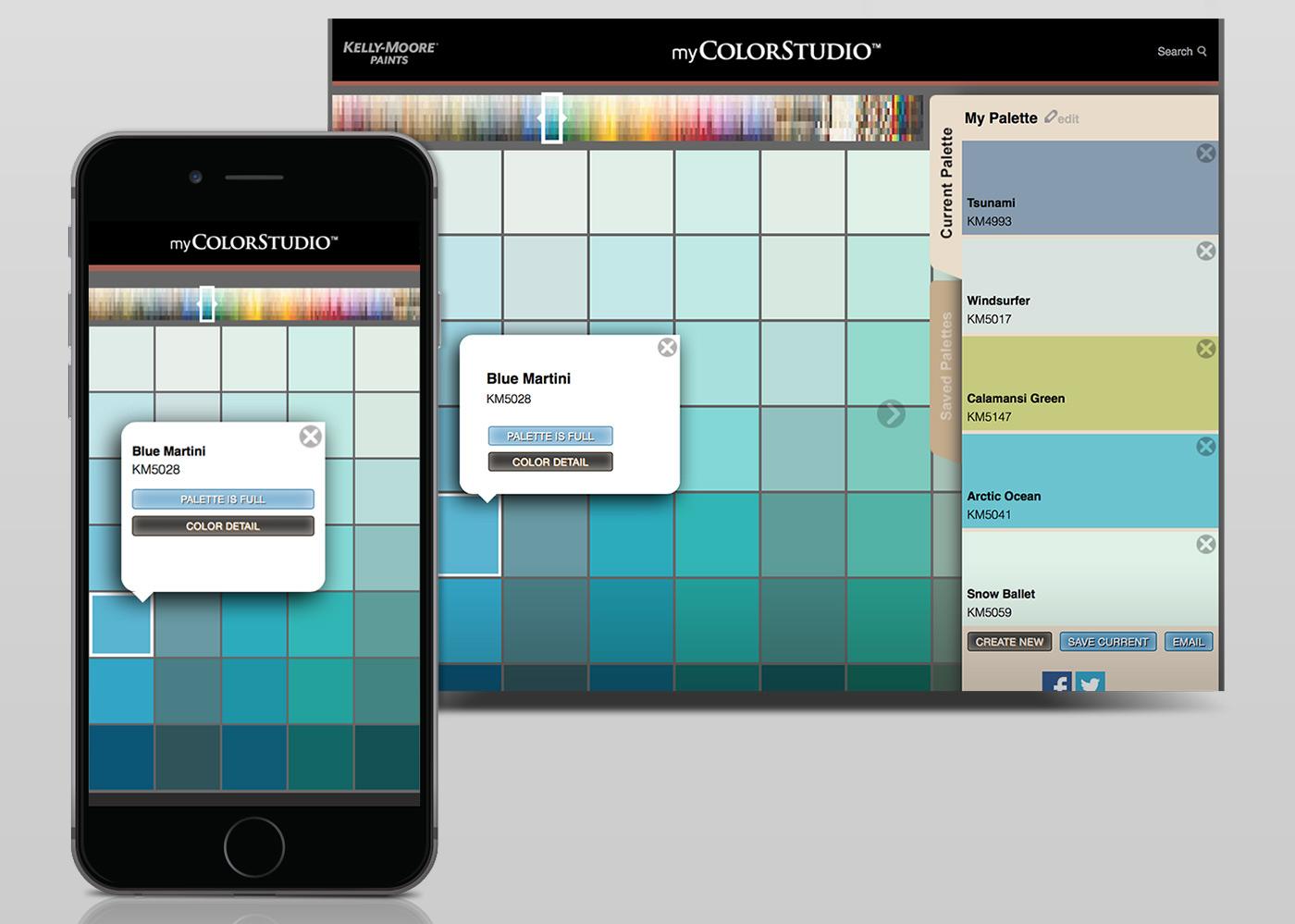 Kelly Moore Color Picker App