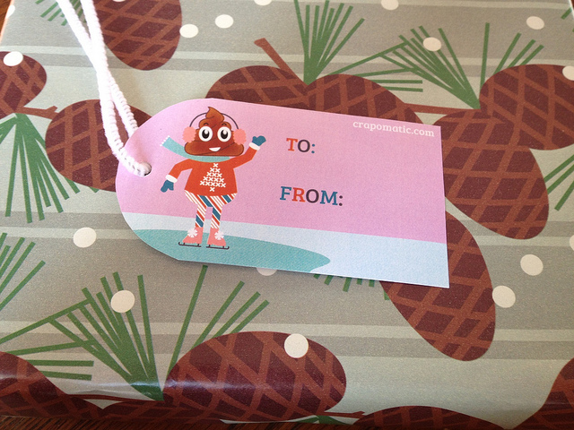 Doo Doo gift tag