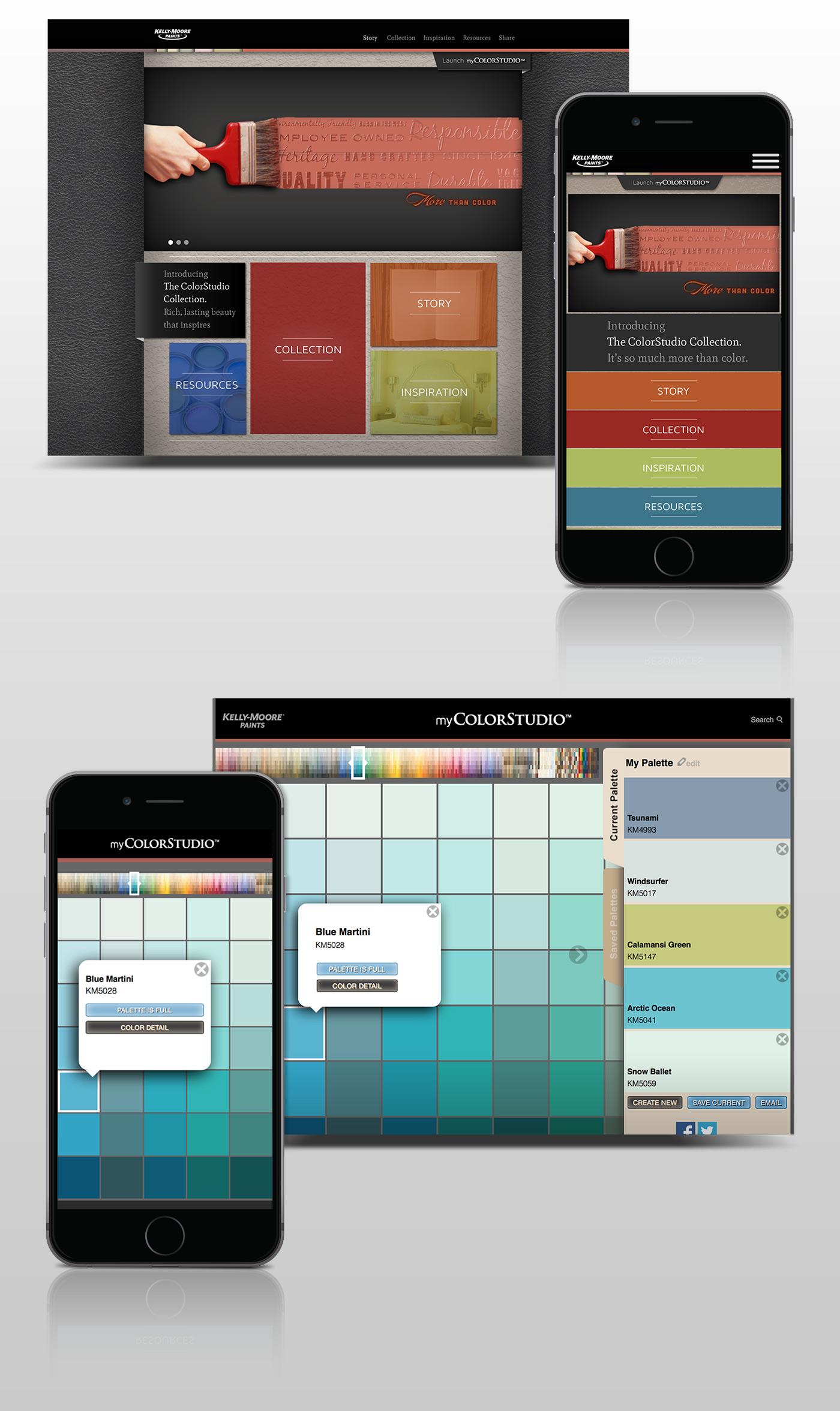 Responsive web app